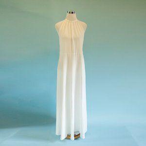 ASOS Edition 12P Maxi Halter Wedding Dress NWT